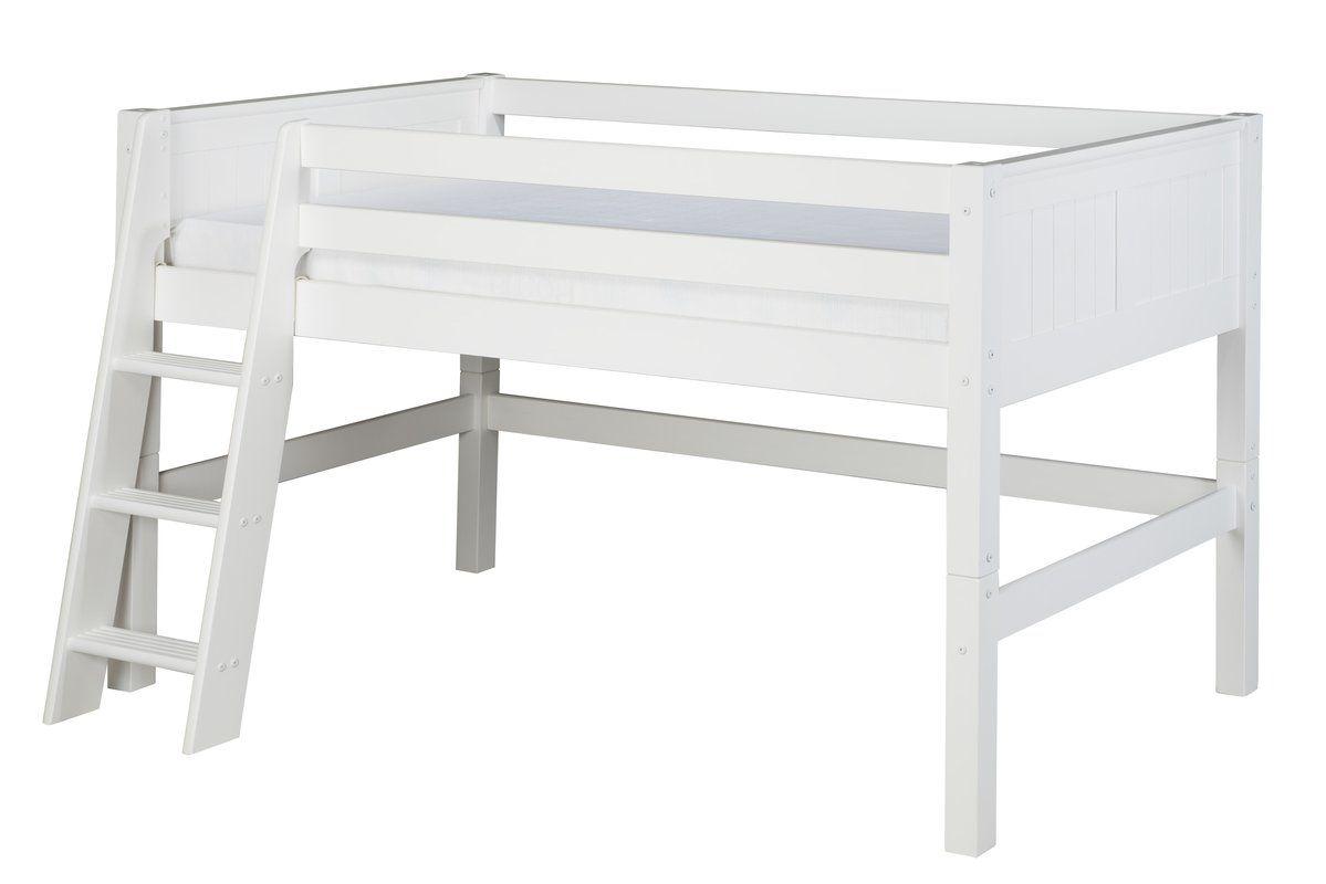 Low loft bed with desk and dresser  Isabelle Twin Low Loft Bed  Bedroom  Kids  Pinterest  Low loft
