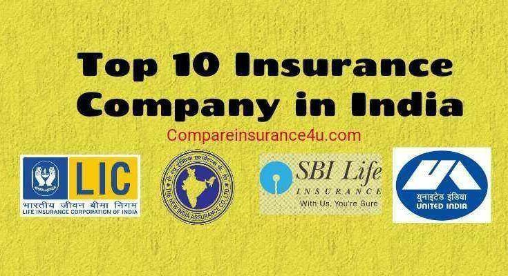 Insurance Company In India Top 10 Insurance Companies In India