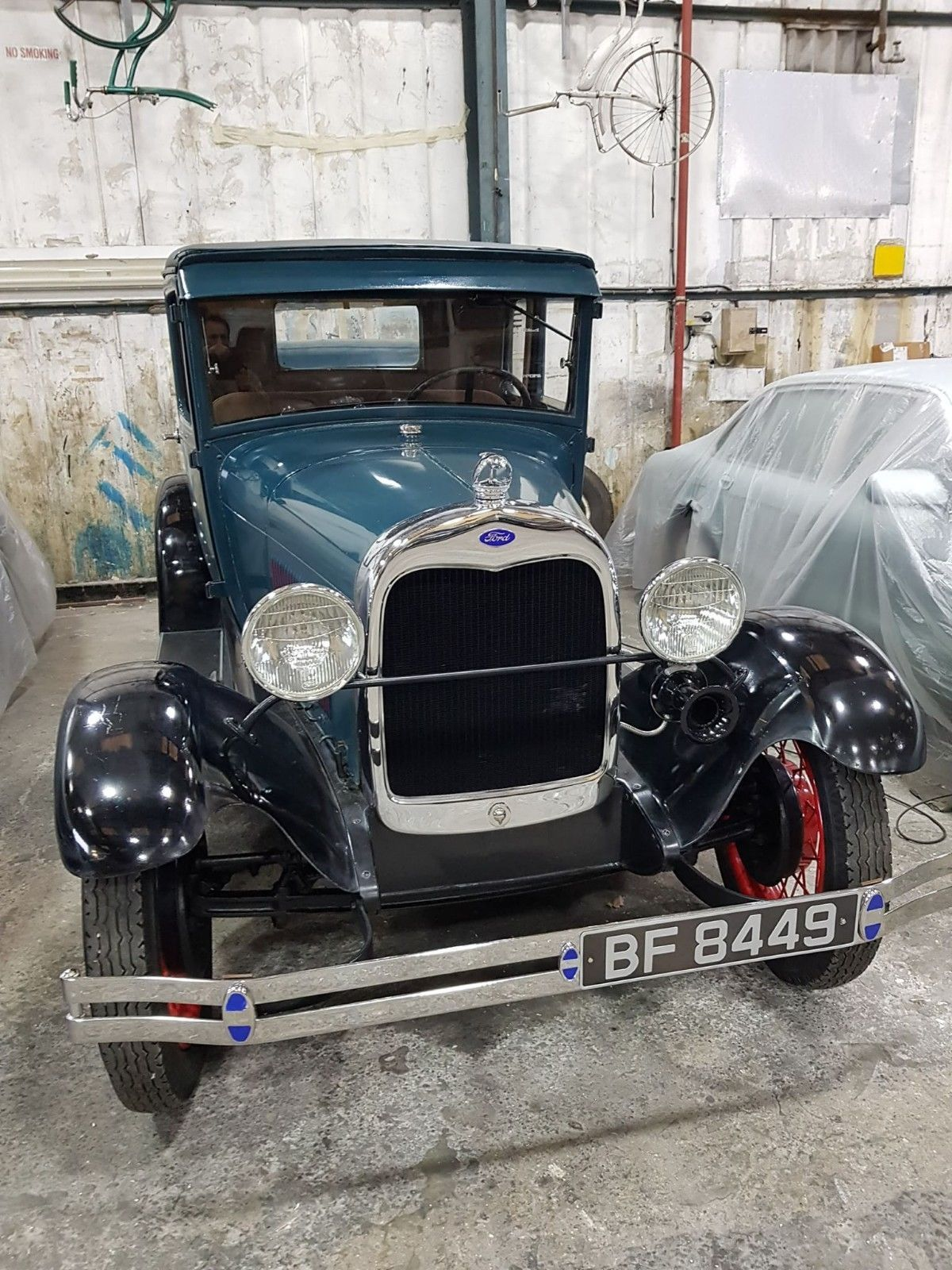 1929 ford model a coupe very nice refurbished uk registered american ...