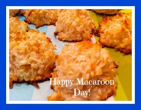 Simple Macaroon Cookie #recipe from Organized Island