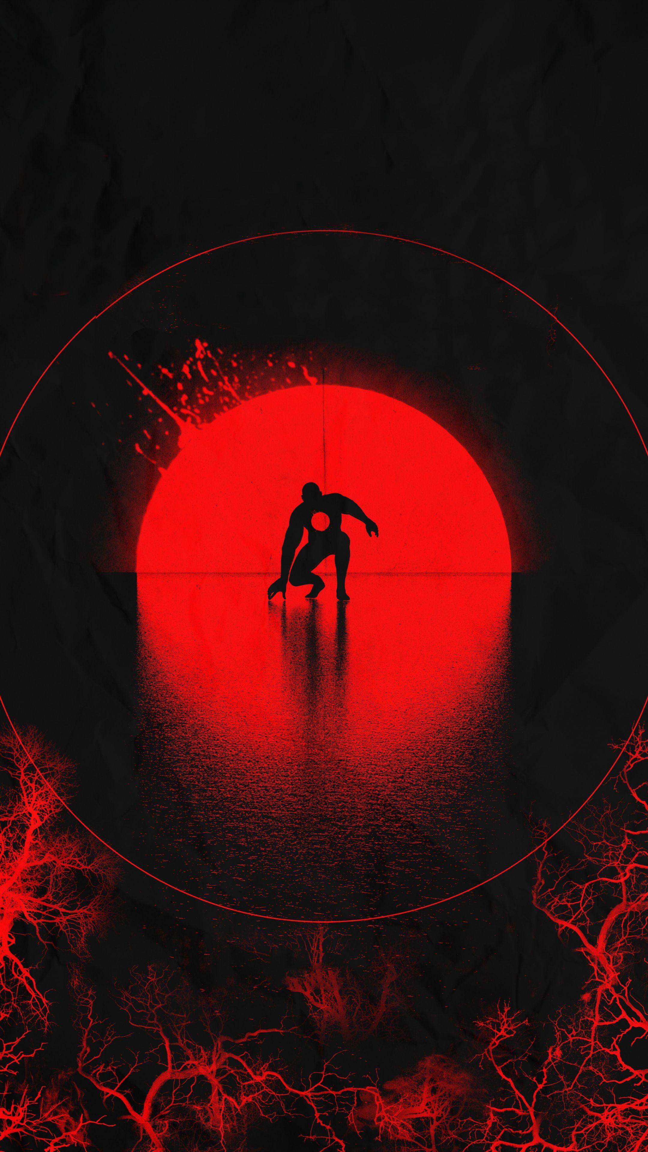 2160x3840 Bloodshot, movie 2020, minimal, art wallpaper in