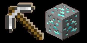 Successful Installation Custom Cursor Browser Extension Minecraft Iron Minecraft Minecraft Printables