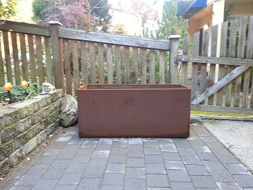 Will My Corten Planters Stain Surrounding Area With Rust 400 x 300
