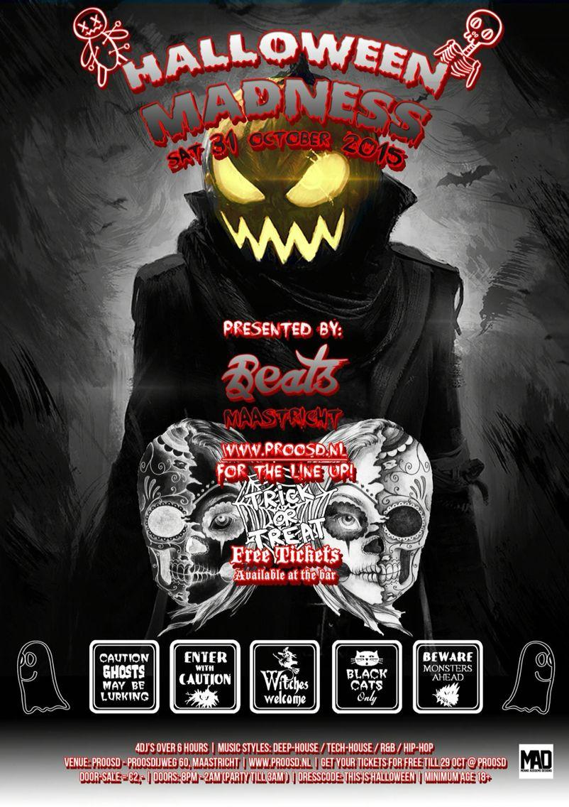 Beats Maastricht Halloween Party 2015