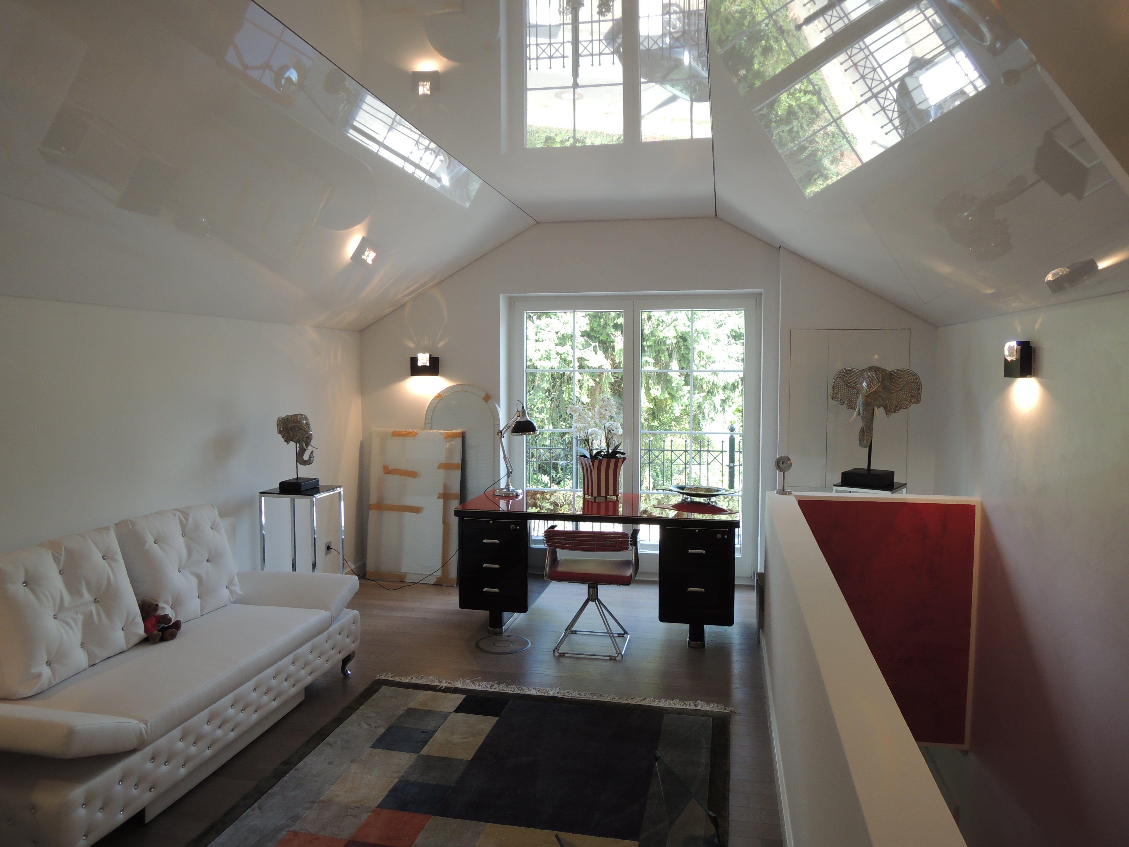 Hochglanzdecke Als Sonderform Spanndecken Haus Deko Design