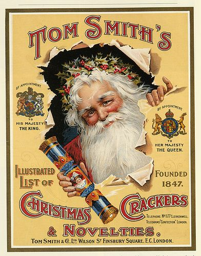 Tom Smith's Christmas Crackers & Novelties Catalogue Cover (crackers ...