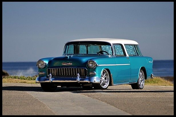 1955 Chevrolet Nomad Resto Mod Ls1 Automatic For Sale By Mecum