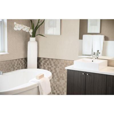 Smart Tiles Tango Titane 1155 in x 964 in Adhesive Decorative