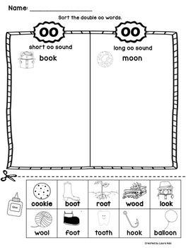 Pin on Oo Word Activities Kindergarten