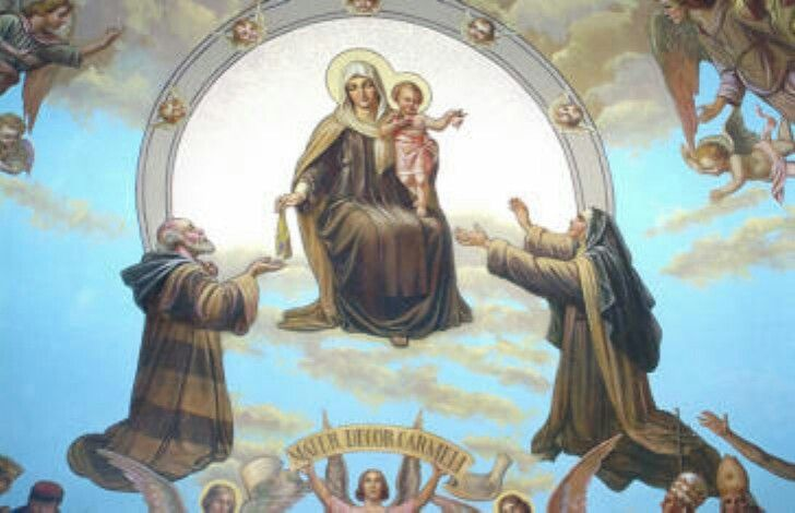 Our Lady of Mt. Carmel pray for us!