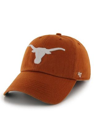 on sale 1077e b5fd9 Texas Longhorns  47 Mens Orange 47 Franchise Fitted Hat