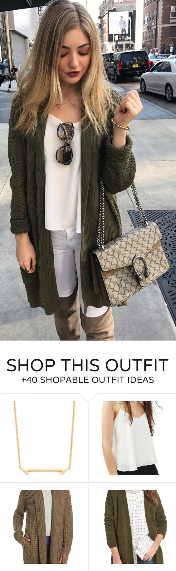 40  Everyday Winter Outfits You Should Own | Maxi cardigan, Green ...