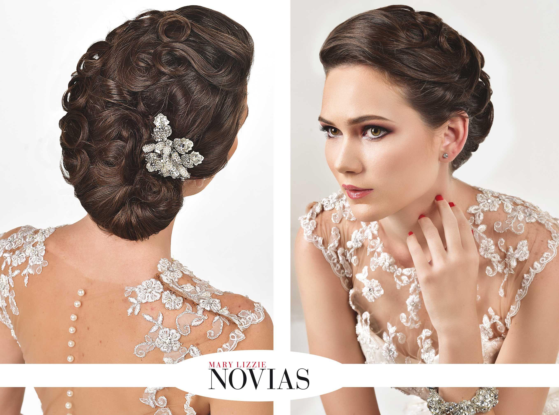 Recogidos elegantes un look de novia para impresionar - Peinados de novia modernos ...