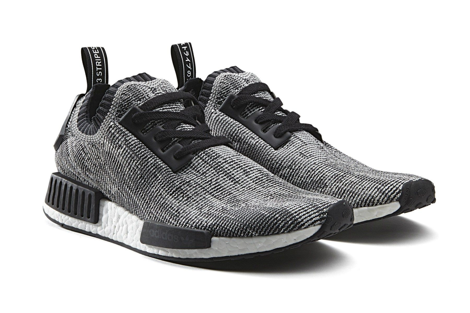 Cheap Adidas NMD Xr1 Primeknit Glitch S32216 White Core Black