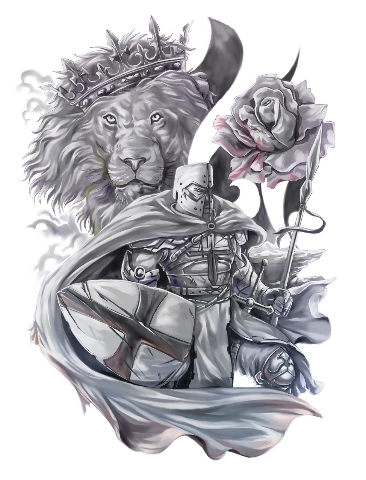 George Floyd Chest Tattoo: Image Result For St George Tattoo Ideas