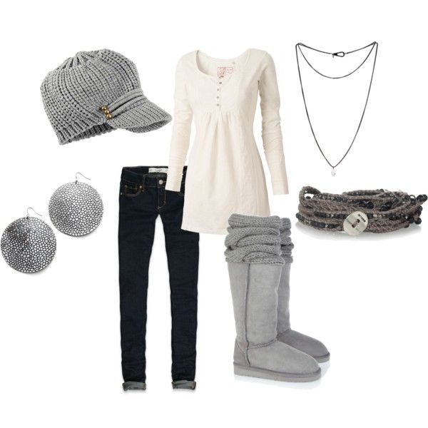 """pregnant winter"" by agould52 on Polyvore"