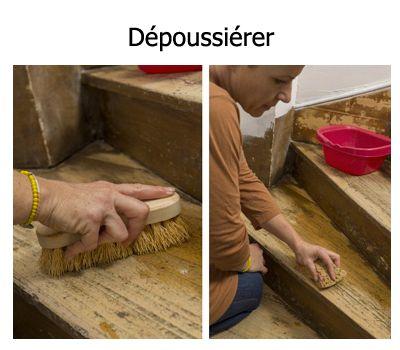 Comment peindre rapidement un escalier en bois ? House - Lessiver Un Mur Avant De Peindre