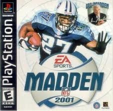 Madden 2001 Ps1 Game In 2019 Madden Nfl Madden Games Game Sales