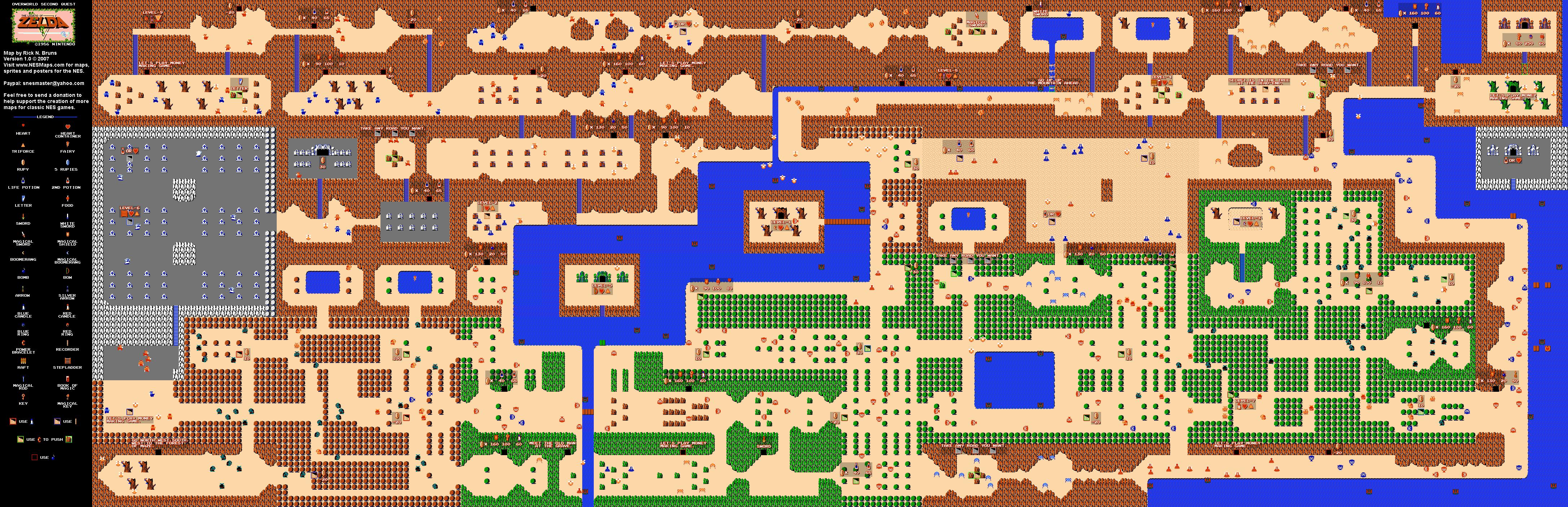 Legend of Zelda Bonus Maps | Prima Games