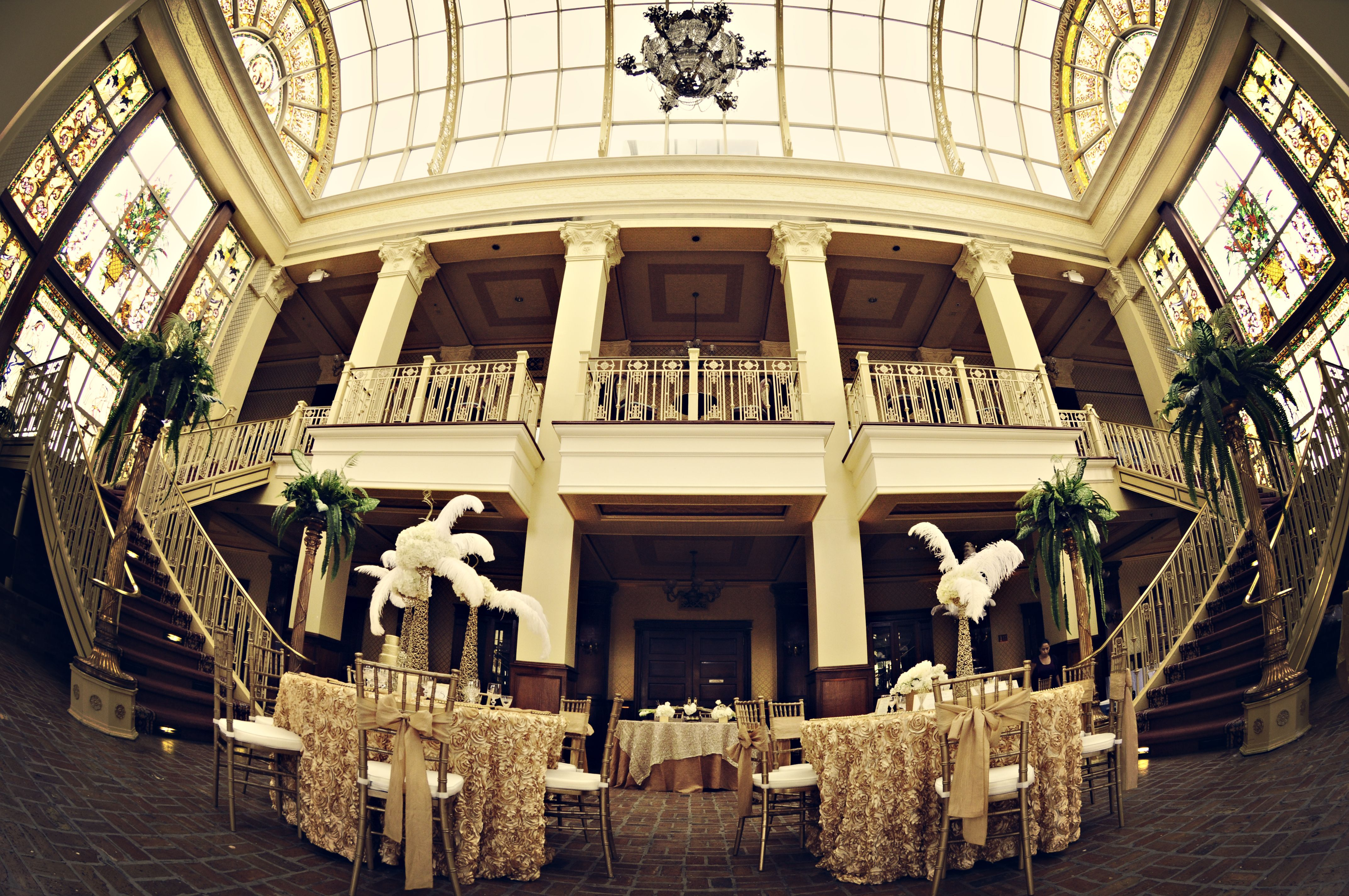 Great Gatsby Wedding Reception exquisite wedding venue for great gatsby Great
