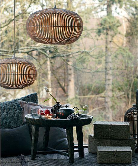 Oppsiktsvekkende Pendel Zep- bambus - lille | Soveværelse | Home lighting, Cottage JE-46