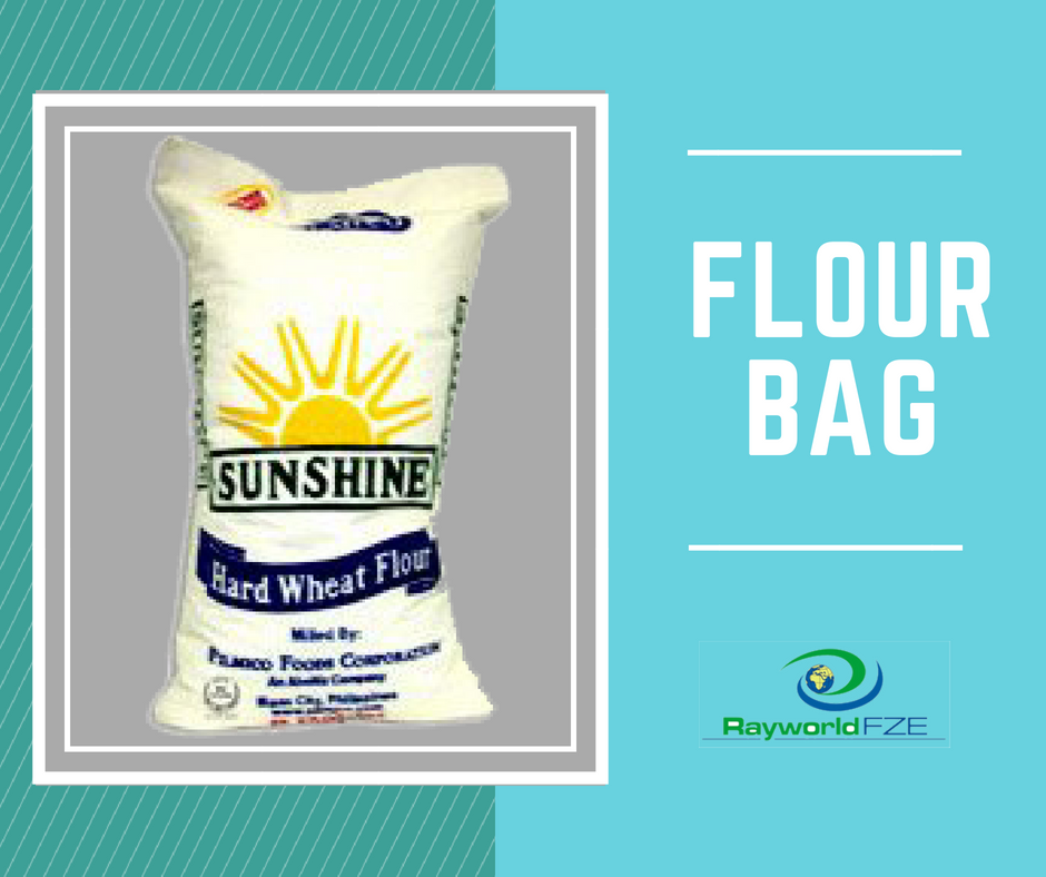 Flour Bags Have Been Customized To Provide Better Packaging Of It Get This As Per Your Customized Design Only At Ray World Dubai Exp Woven Bag Bags Sack Bag