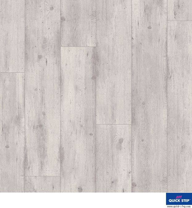 Quick Step Impressive Concrete Wood Light Grey Laminate Flooringthis Flooring Presents The Natural Beauty Of A Rustic Oak Floor With