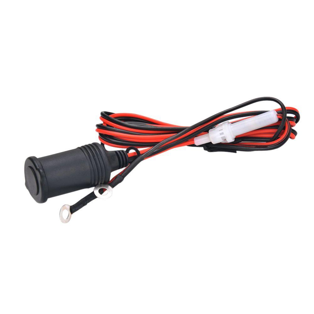 Motorcycle Car 12v Power Supply Cigarette Lighter Socket Plug 18m Wiring On Insurance