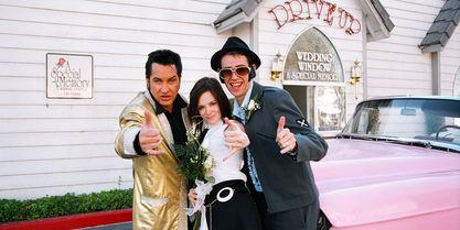 las vegas weddings world famous drive up wedding get married in true las