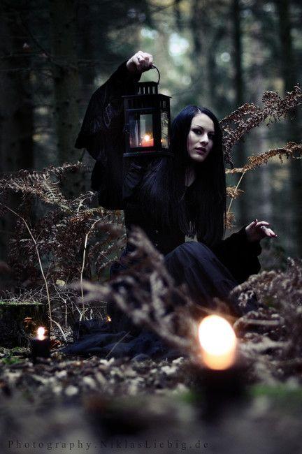black goth porn