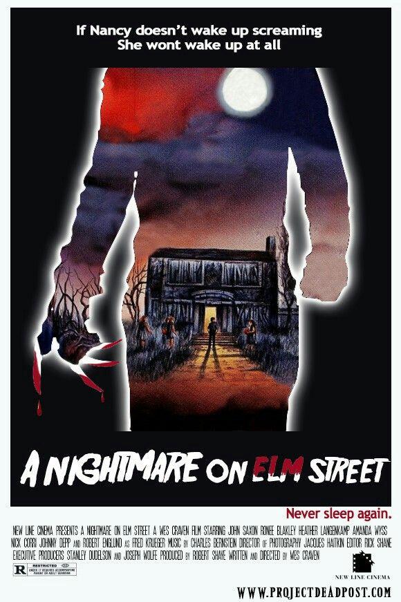 A Nightmare On Elm Street 1984 Friday The 13th Film Movie