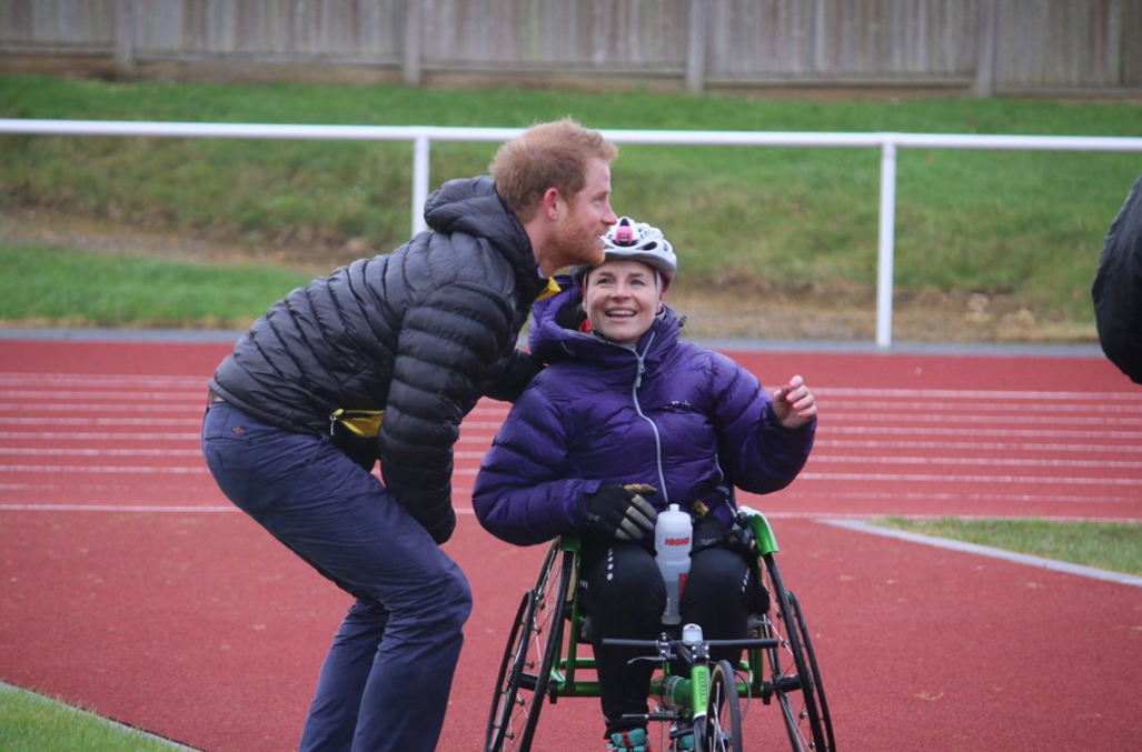 """""""Prince Harry meeting #InvictusGames hopefuls for... - Prince Henry Updates"""