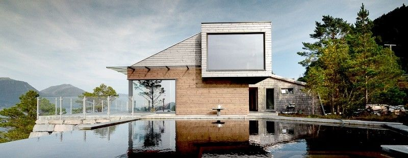 Cabin Straumsnes Blend Of Traditional And Modern Scandinavian Design Contemporary Cabin Cabin Architect