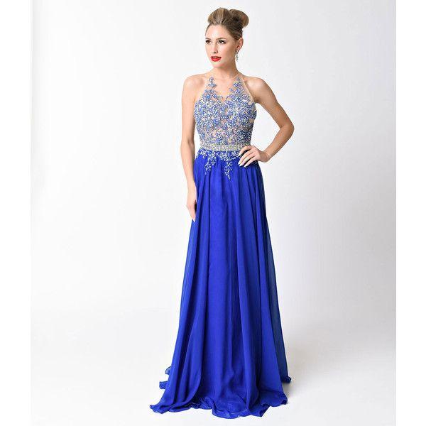 Sheer Halter Dresses