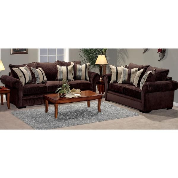 Northshore Chocolate Upholstered 2 Piece Room Group Living Room Tiles Interior Design Family Room Room Group #north #shore #living #room #set