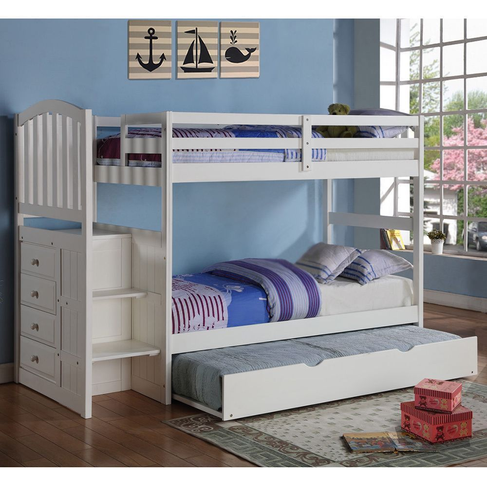 Create the perfect sleepoverready bedroom with this modern clean