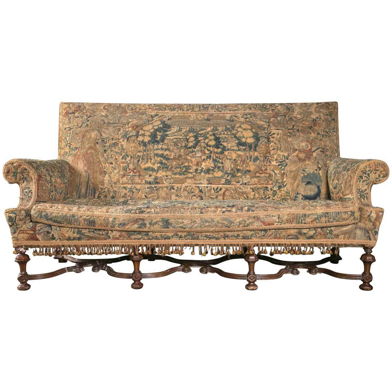 Antique louis xiv chair - William Mary Style Settee From A Unique Collection Of Antique And Modern Settees At