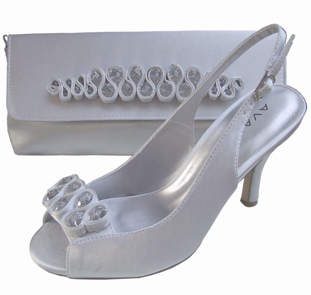 31508e1fcaf Menbur Avance Pearl Grey Peep Toe Shoes | Bridal Shoes | Shoes, Peep ...