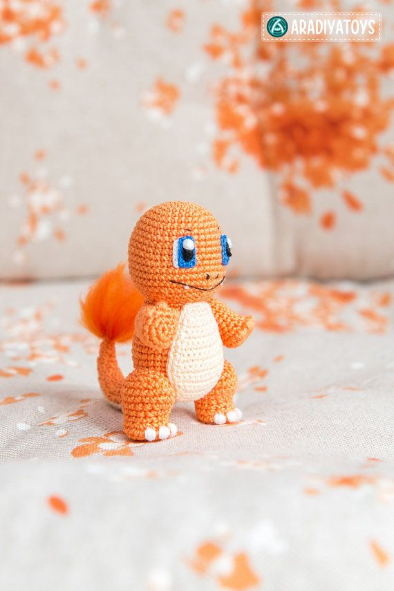 Crochet Pattern of Charmander from Pokemon Amigurumi by Aradiya ...