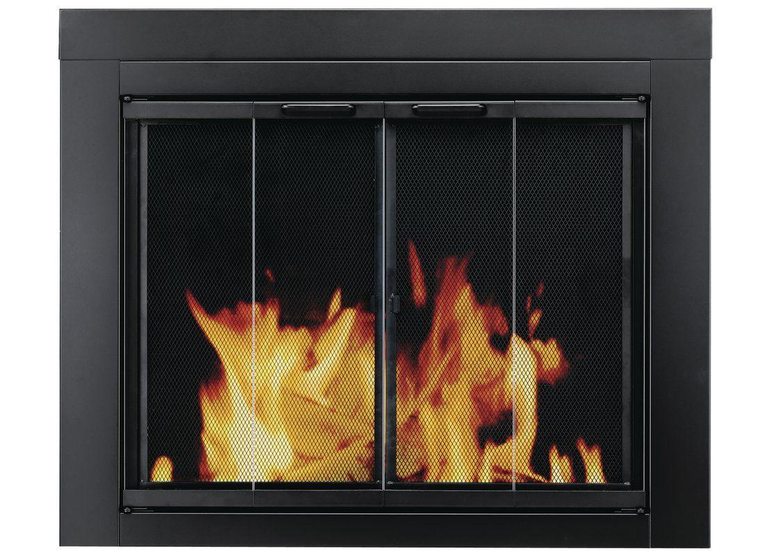 Ascot Bifold Style Steel Fireplace Doors Fireplace Doors Glass