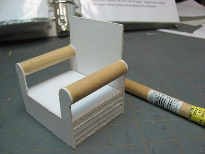 how to make miniature furniture. dollhouse miniature furniture tutorial how to make and upholster a 1 inch scale chair