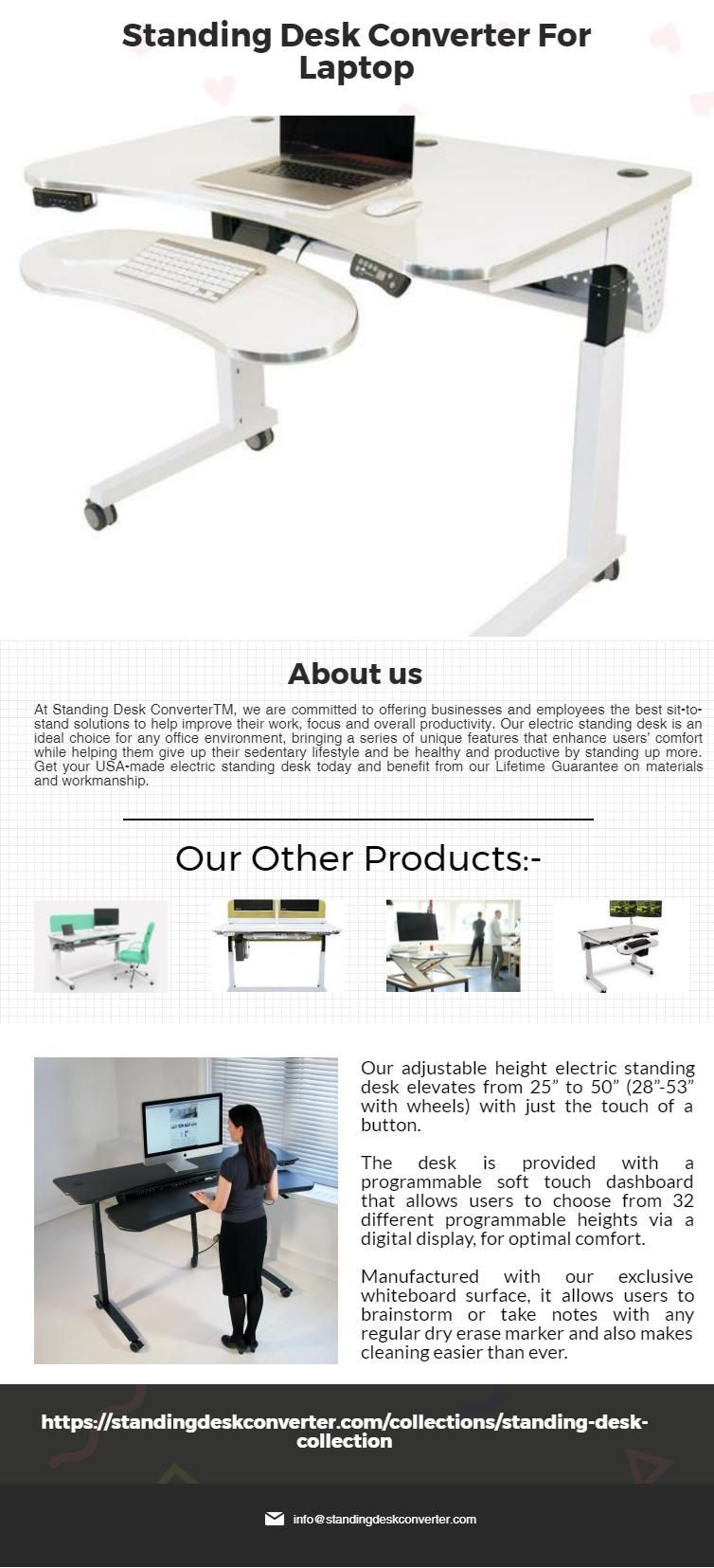 Increase Your Productivity: Sit-Stand Foldable LEVIT8 Desk ...