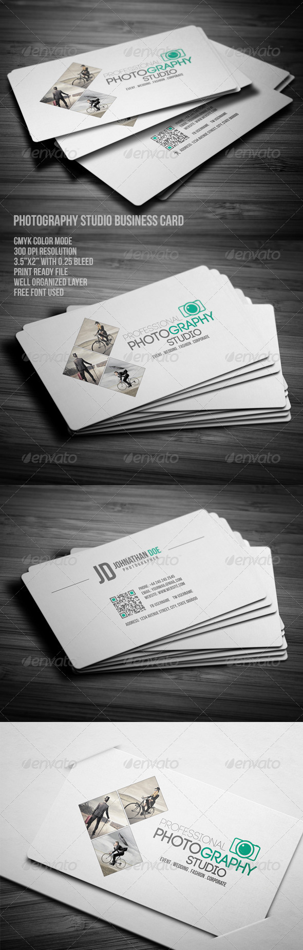 Photography studio business card photoshop psd professional photography studio business card photoshop psd professional minimal available here https reheart Image collections
