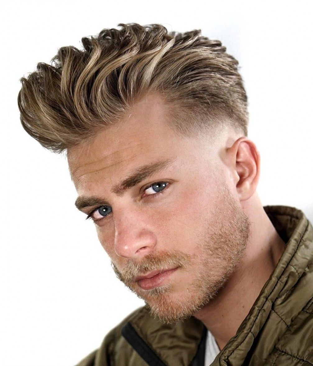 500 Choses A Savoir Sur Cheveux Courts Homme Blond In 2020 Quiff Hairstyles Mens Hairstyles Hair Styles