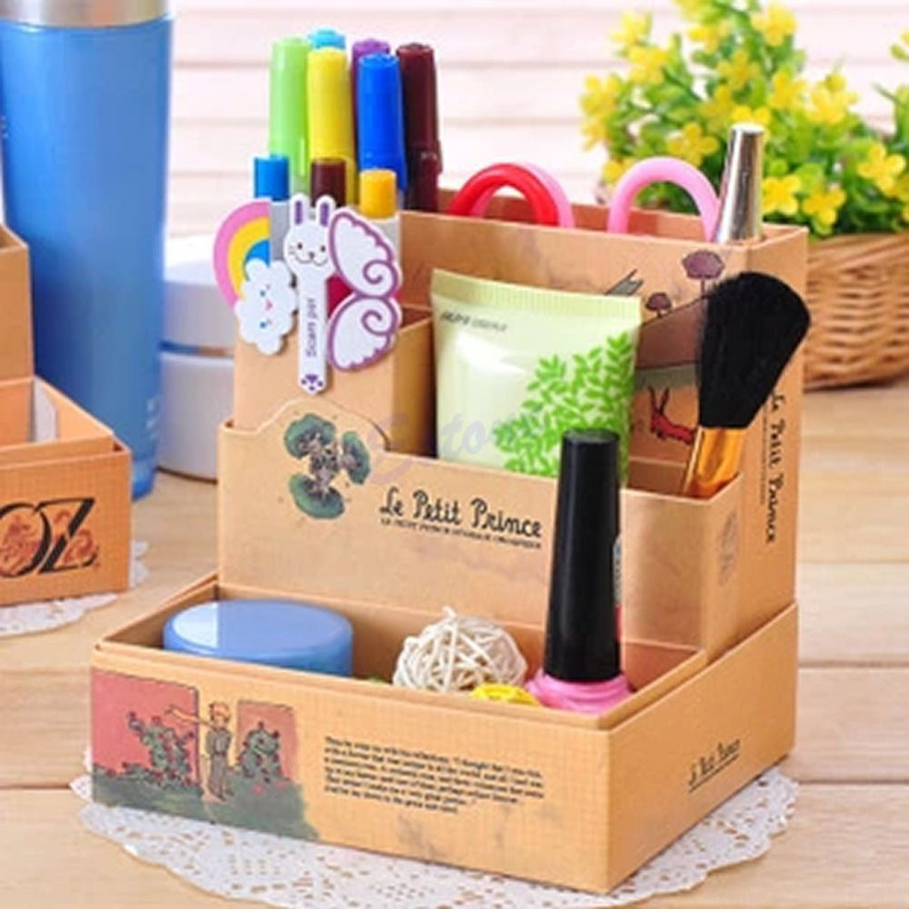 30 Fun Creative Diy Desk Organizer Ideas To Make Your Desk Cute