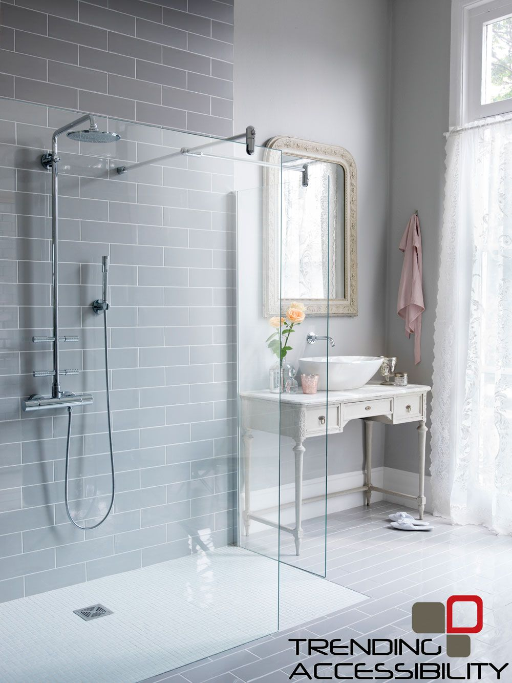 Image result for accessible shower