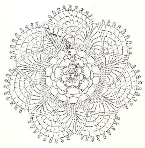dessous de verres - Fleurs et Applications au Crochet | Horgolt ...