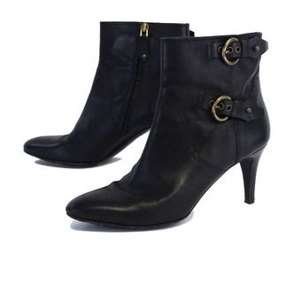 Bally Black Leather Booties