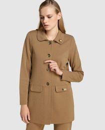 Abrigo largo de mujer Naulover en marrón · Naulover · Moda · El Corte Inglés ce6766ebb543