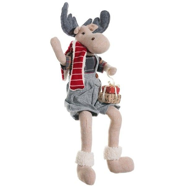 Women's Allstate 'mr Moose' Figurine 35 ❤ Liked On Polyvore Rhpinterest: Moose Figurines In Home Decor At Home Improvement Advice